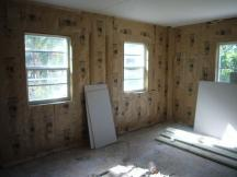New windows, walls, floors and more